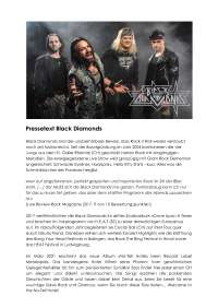 Pressetext Black Diamonds